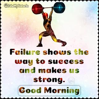 Good morning Motivation Status