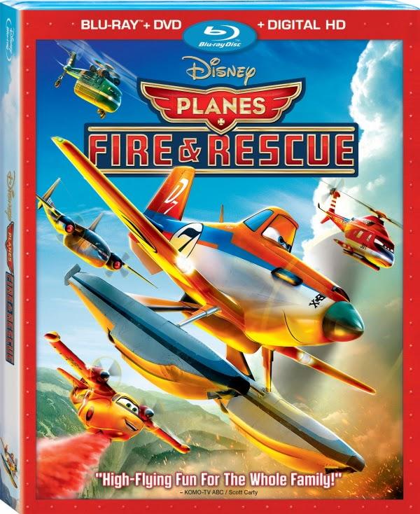Planes Fire & Rescue 2014 BluRay 300mb 480p ESub
