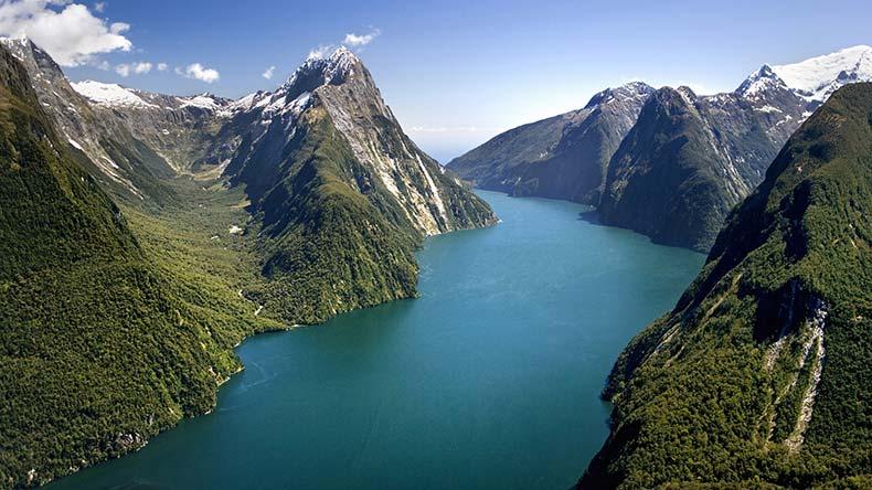 Путешествие в Новую Зеландию и Милфорд-Саунд