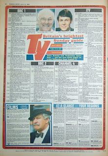 back page of the UK tabloid newspaper The Sunday Sport dated 12th June 1988