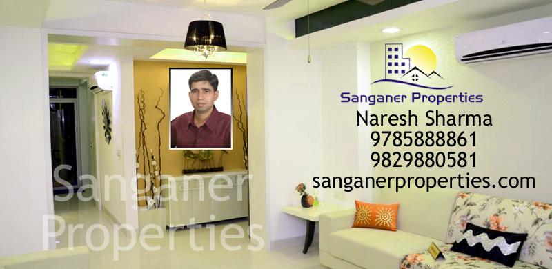 2 BHK Flat in Sanganer
