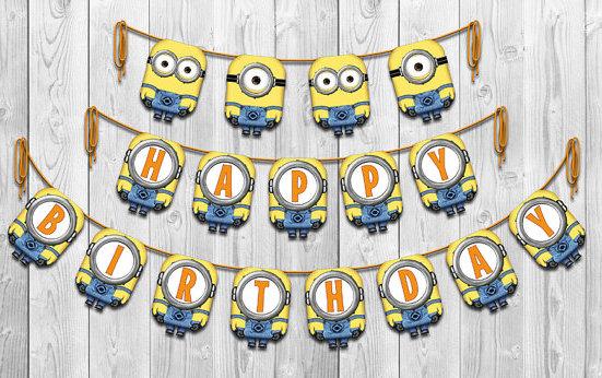 Happy Birthday Minion Pictures