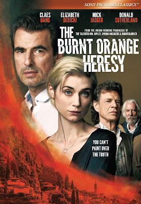 The Burnt Orange Heresy [2020] [DVD R1] [Subtitulada]