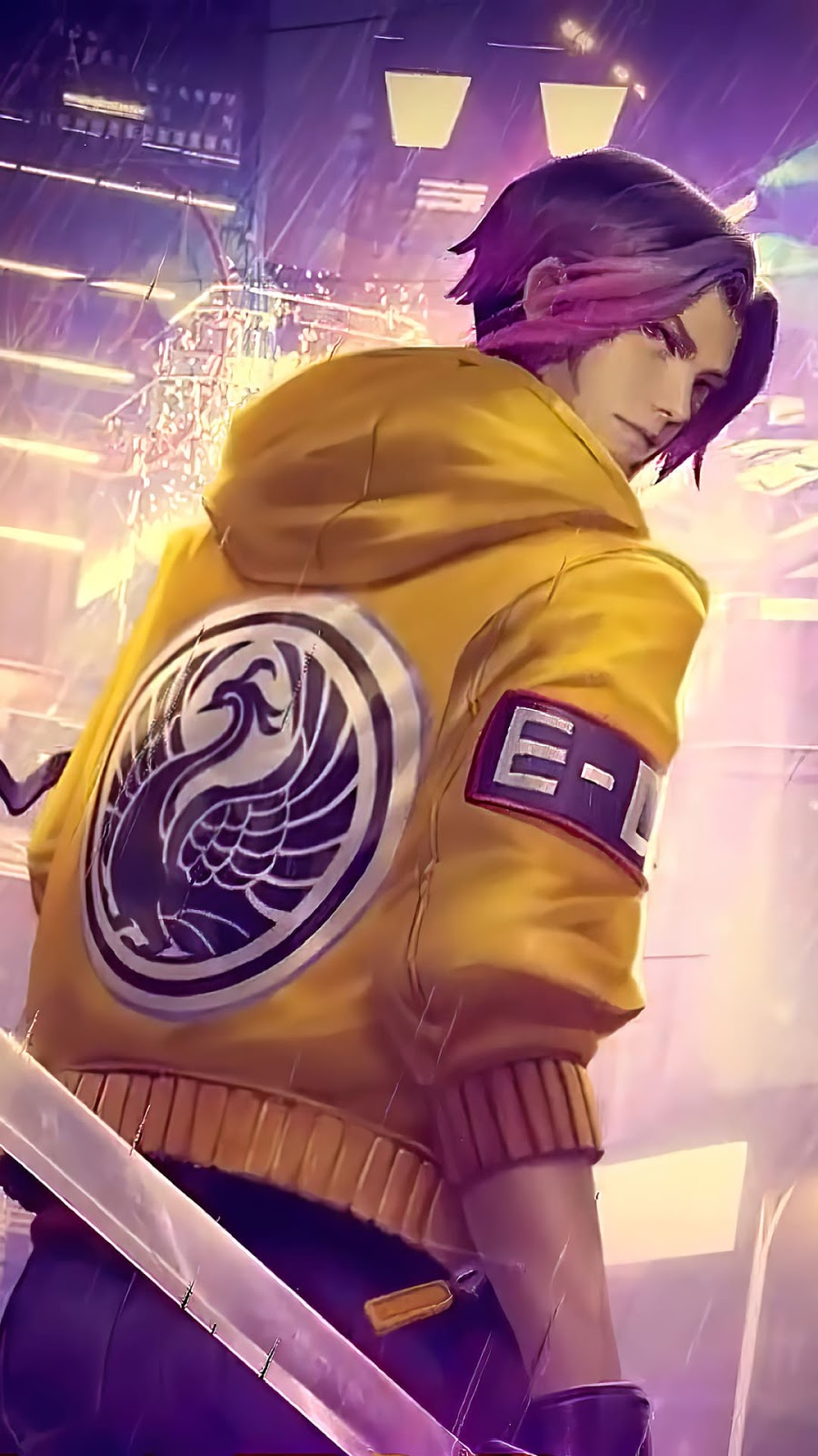 Wallpaper Ling Street Punk Skin Mobile Legends HD for Android and iOS