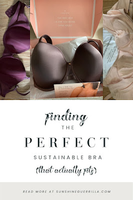 A Tale of Two Boobs; My Quest for a (Sustainable) Bra that Fits