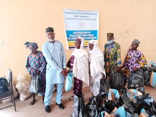 COVID-19: Fed. Poly Ede Senior Staff Club donates food items to residents IMG 20200521 WA0049