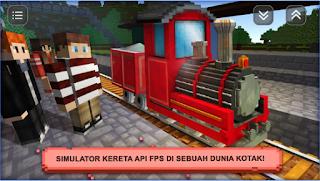 Game Train Craft Sim: Build & Drive App