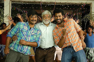 Prabhu Deva with brother and father
