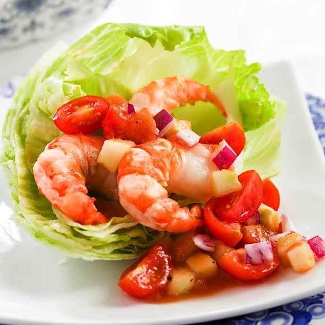 Shrimp Cocktail Salad - 4