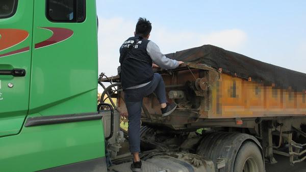 彰化縣環保局強力攔查取締 杜絕廢棄物非法流向彰化