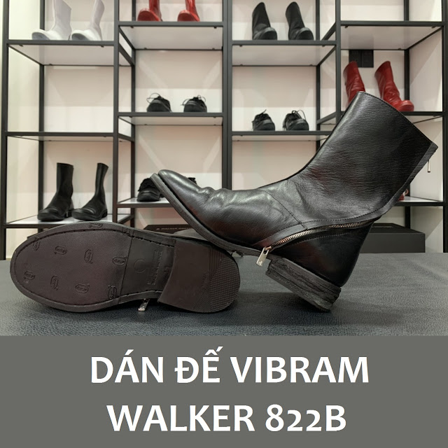 Walker 822B được dán đế Vibram soles Protector