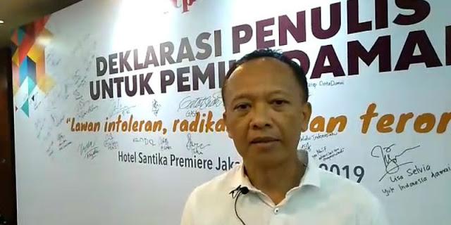 Pepih Nugraha, Eks Wartawan Kompas Buzzer Jokowi Tolak Pembubaran Buzzer