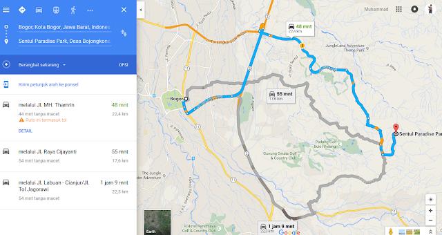 menuju Keindahan Air Terjun Bidadari di Bogor