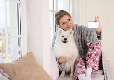 Best Selfie with dog