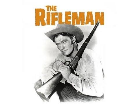 """Falando em Série: O Homem do Rifle (""""The Rifleman"""") 1958"""