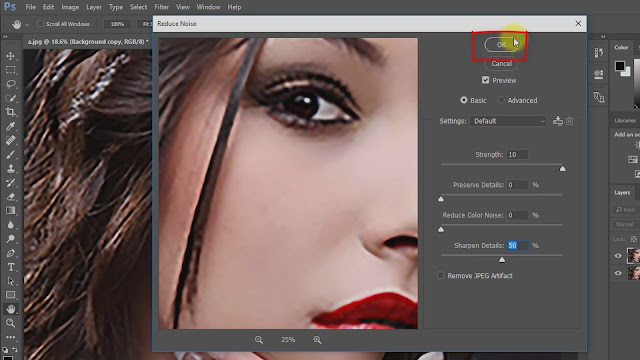 how to depixelate image convert screenshot 3