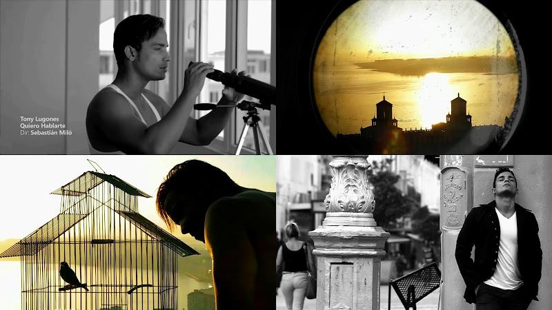 Tony Lugones - ¨Quiero hablarte¨ - Videoclip - Director: Sebastián Miló. Portal Del Vídeo Clip Cubano