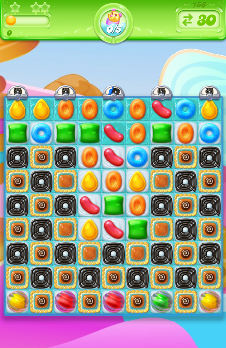 Candy Crush Jelly Saga 156