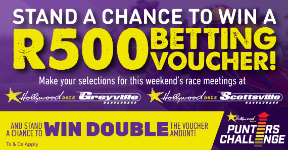 Hollywoodbets Punters' Challenge Social Promo - Ts and Cs