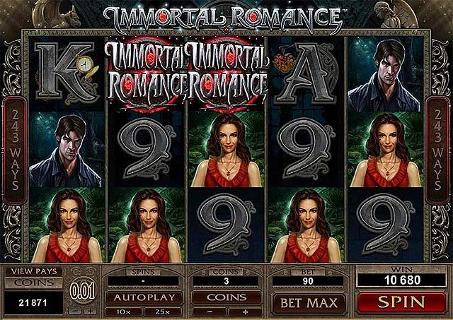Ulasan Slot Microgaming Indonesia - Immortal Romance Slot Online