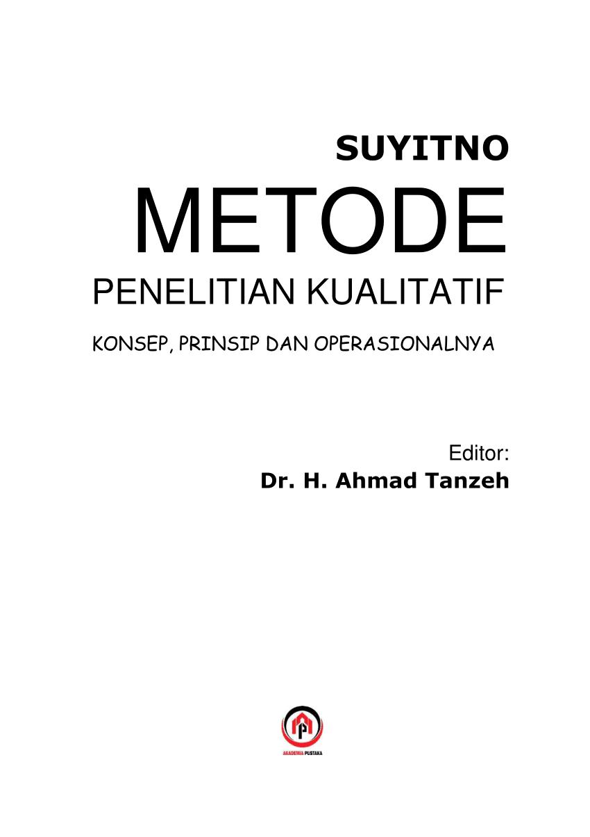 Metode Penelitian Png : metode, penelitian, Metode, Penelitian, Kualitatif, Makhdum, Ibrahim