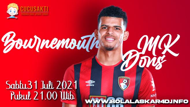 Prediksi Bola Bournemouth Vs Milton Keynes Dons Sabtu 31 Juli 2021