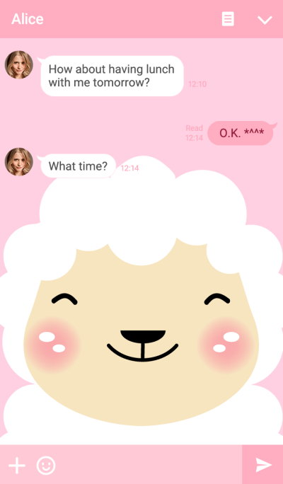 Simple White Sheep theme v1