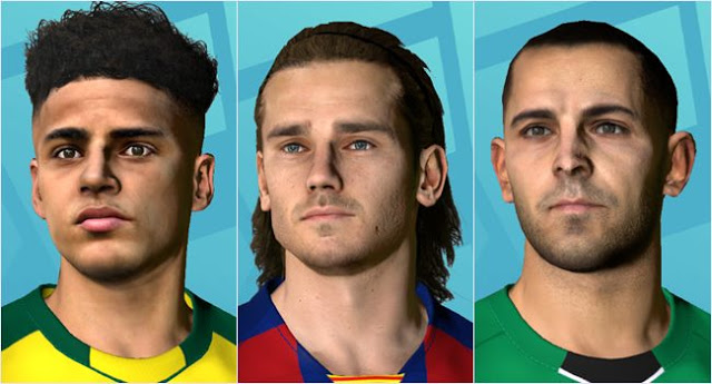 PES 2017 Mini Facepack #21-04-2020 by Dicky