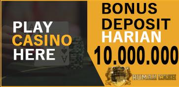 BONUS DEPOSIT 10.000.000