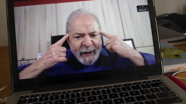 Lula da Silva: Bolsonaro es un desastre en Brasil ante el COVID-19