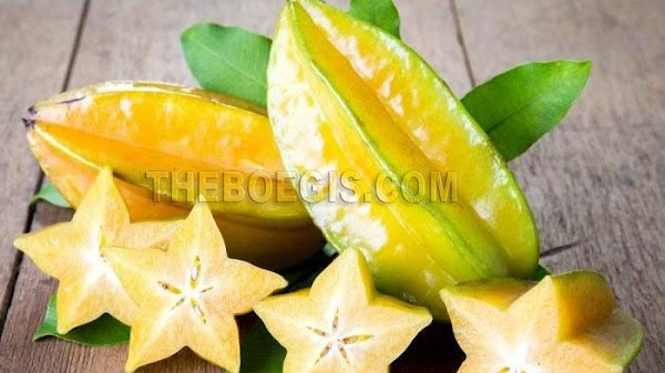 Benefits of Star fruit efficacy for body health
