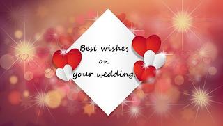 Gambar ucapan selamat pernikahan bahasa Inggris