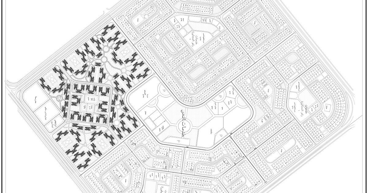 خريطة الحى 30 بالعاشر من رمضان بجودة عالية العاشر اون لاين
