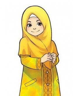 kartun-muslimah-yang-cantik