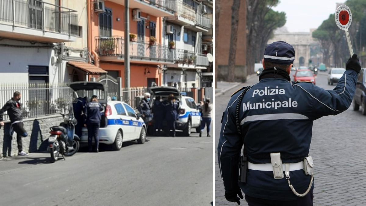 Polizia Municipale controlli anti Covid quartieri