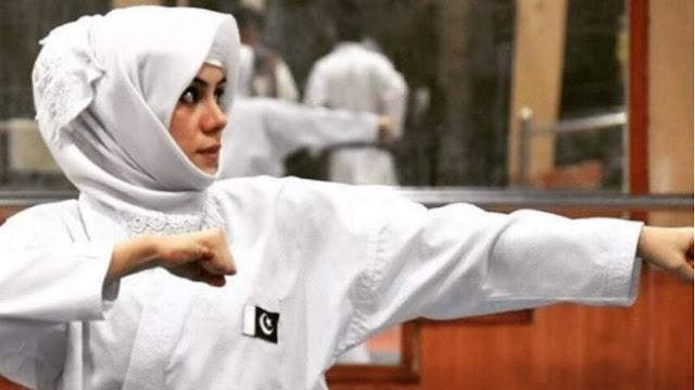 Kulsoom Hazara, Pakistan's karate superstar