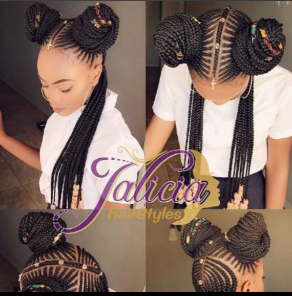 Stunning Cornrow Braid Hair Styles By Jalicia Hairstyles