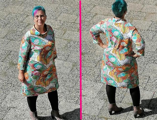 Schnittmuster Boerlinerin - Sweater&Dress DALINA