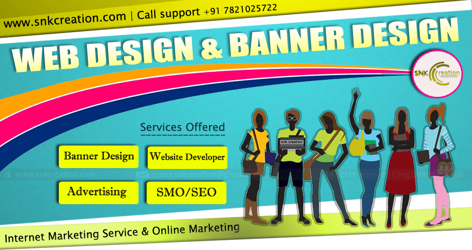 Snk Creation Just Socially Advertise Social Online Marketing Web Design And Banner Design By Snk Creation Just Socially Advertise