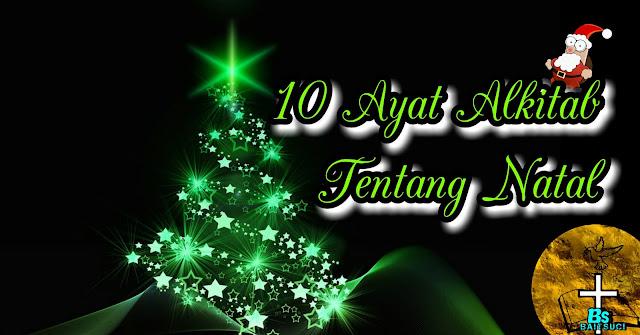 10 Ayat Alkitab tentang Natal
