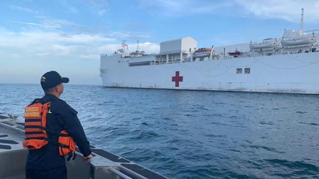 Buque hospital USNS Comfort atendió más de 32.000 venezolanos en América Latina