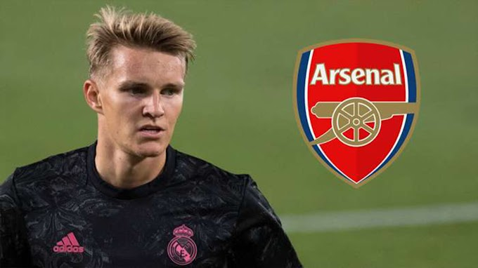 Reports.. Real Madrid agree with Arsenal on Odegaard