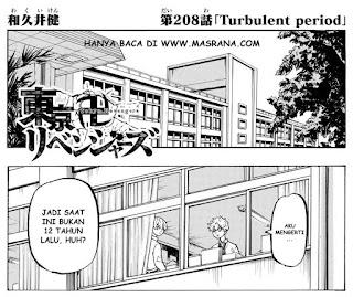 Update! Baca Manga Tokyo Revengers Chapter 208 Full Sub Indo