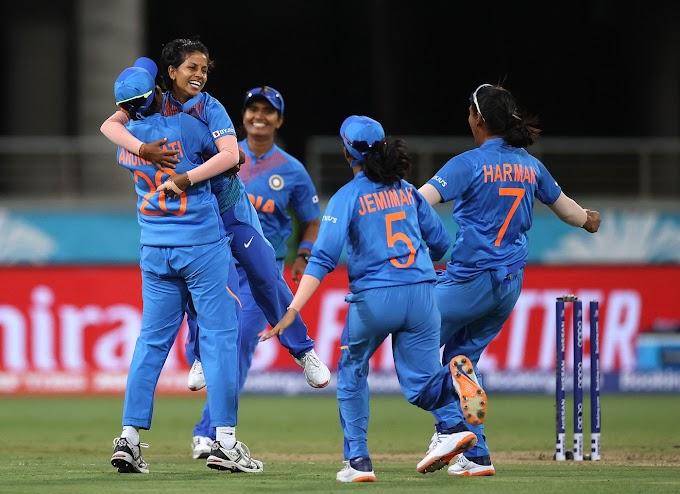 INDW vs AUSW Scorecard T20 Women's World Cup 2020 1st match Australia Women v India Women