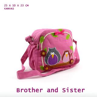 tas selempang unik, tas selempang lucu, tas selempang anak