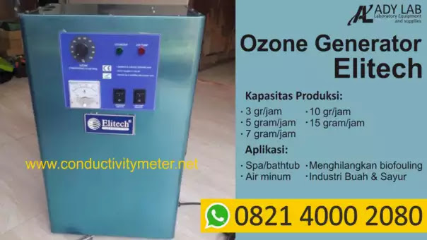 Ady Water jual ozone generator water treatment merek Elitech