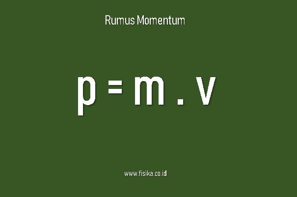 rumus momentum contoh soal