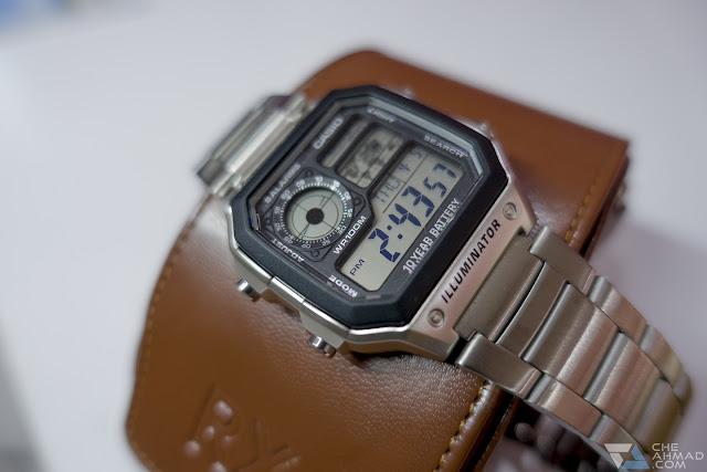 Jam tangan Casio AE-1200WHD | Ulasan Lazada