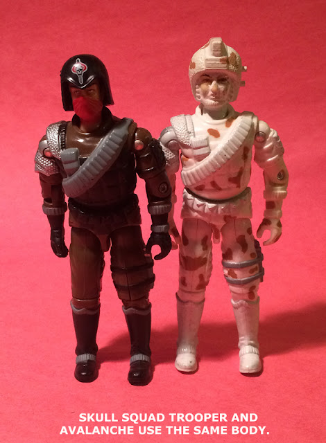 2006 Skull Squad Trooper, Convention Exclusive, Major Bludd, Avalanche, 1987, Battle Force 2000