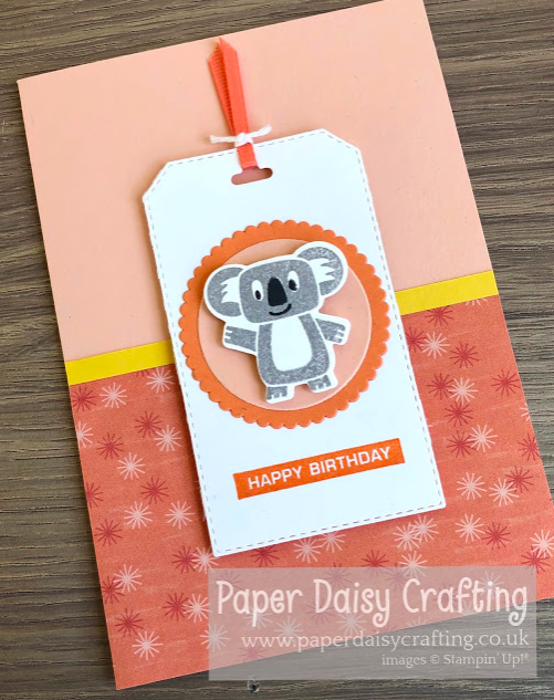 Nigezza Creates with Stampin' Up! & Paper Daisy Crafting & Bonanza Buddies